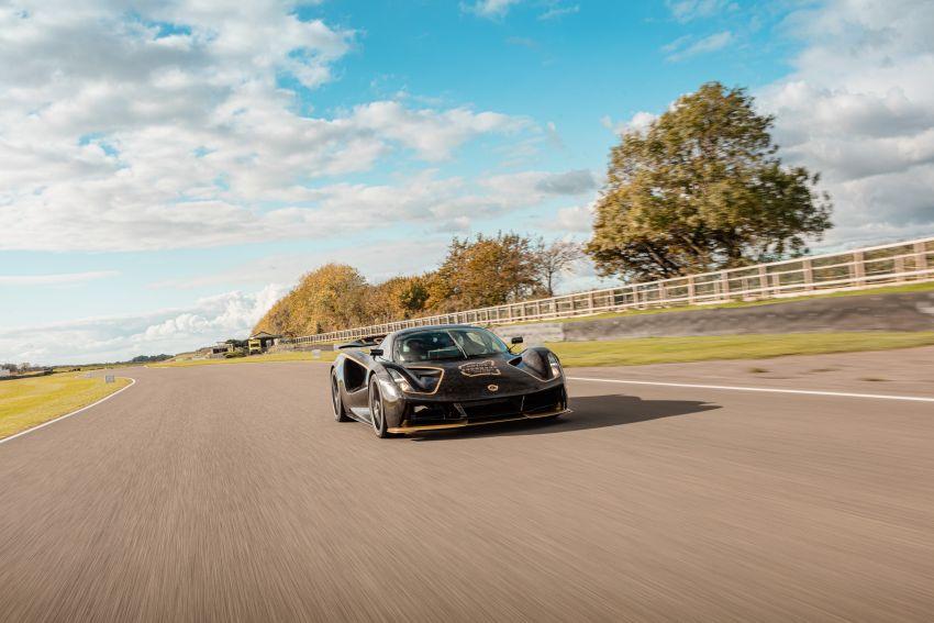 2021 Lotus Evija makes dynamic debut at Goodwood Image #1194951