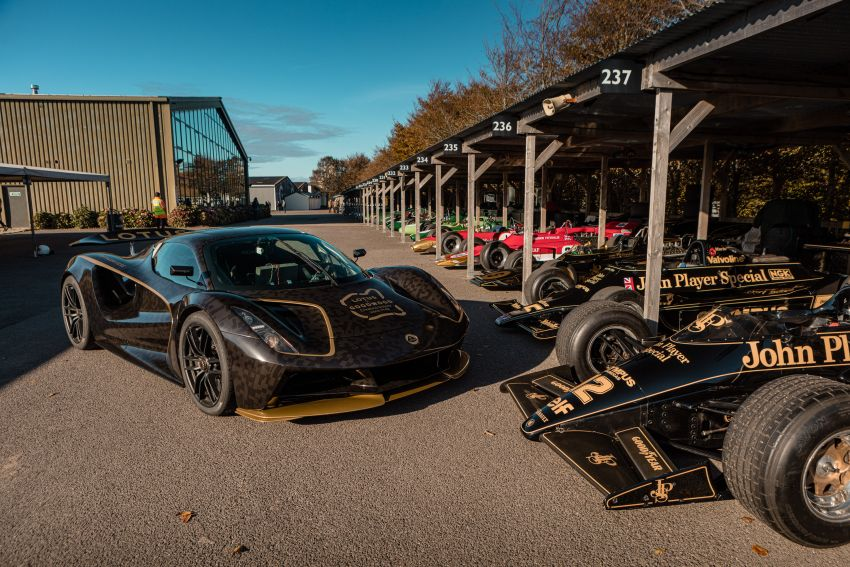 2021 Lotus Evija makes dynamic debut at Goodwood Image #1194952