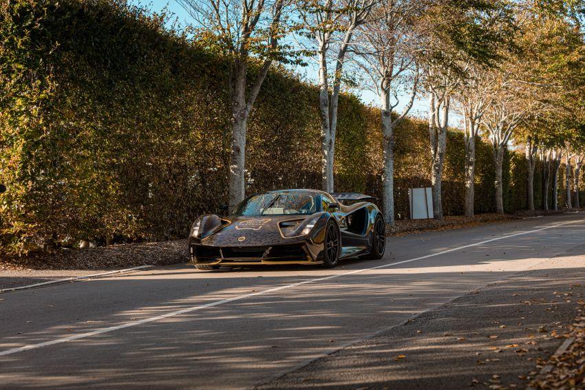 2021 Lotus Evija makes dynamic debut at Goodwood Image #1194925