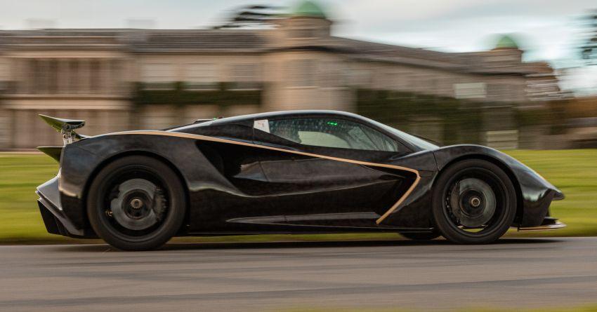 2021 Lotus Evija makes dynamic debut at Goodwood Image #1194929