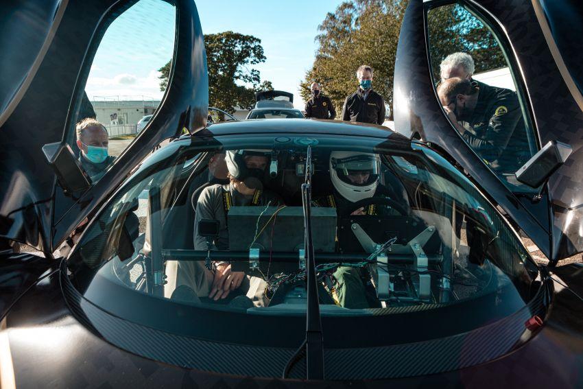 2021 Lotus Evija makes dynamic debut at Goodwood Image #1194937