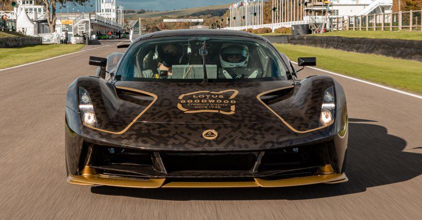 2021 Lotus Evija makes dynamic debut at Goodwood Image #1194939