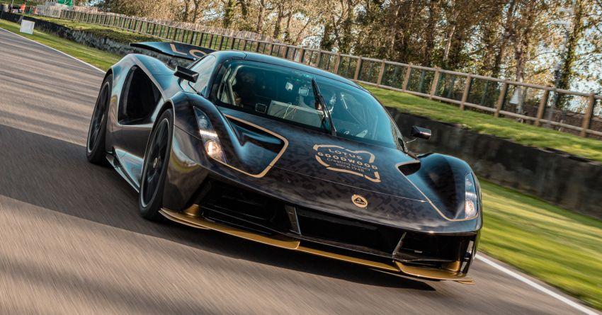 2021 Lotus Evija makes dynamic debut at Goodwood Image #1194943