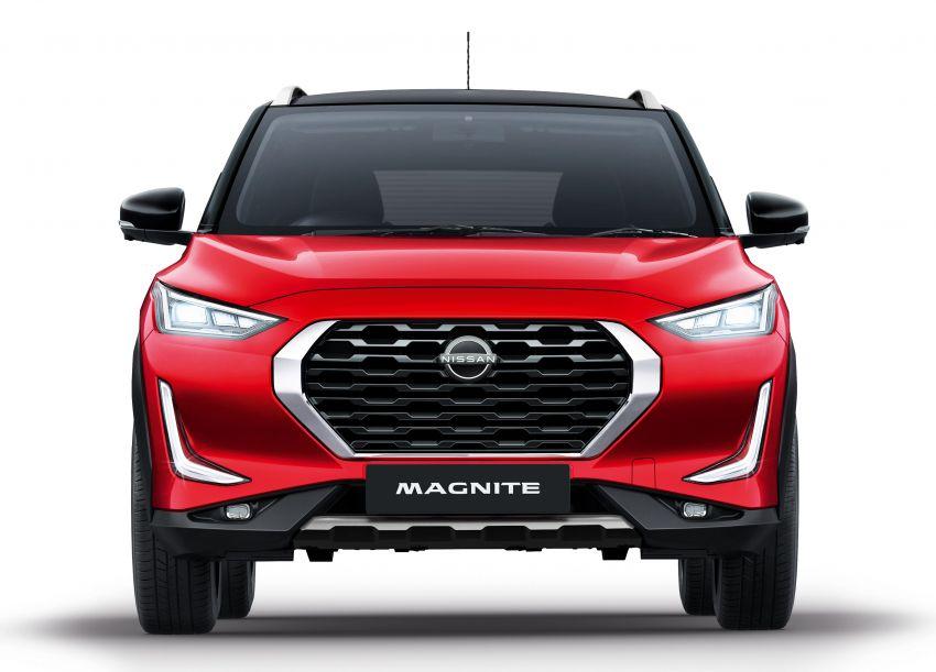 Nissan Magnite buat penampilan pertama di India – SUV kompak dengan enjin tiga silinder 1.0L turbo Image #1196372