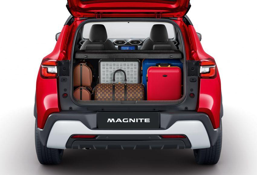 Nissan Magnite buat penampilan pertama di India – SUV kompak dengan enjin tiga silinder 1.0L turbo Image #1196374