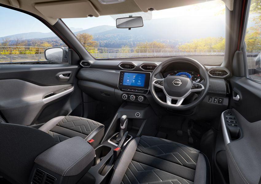 Nissan Magnite buat penampilan pertama di India – SUV kompak dengan enjin tiga silinder 1.0L turbo Image #1196376