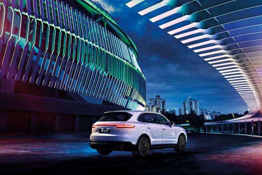2021 Porsche Cayenne Premium Package in Malaysia – air suspension, 21″ RS Spyder wheels; from RM680k Image #1188866