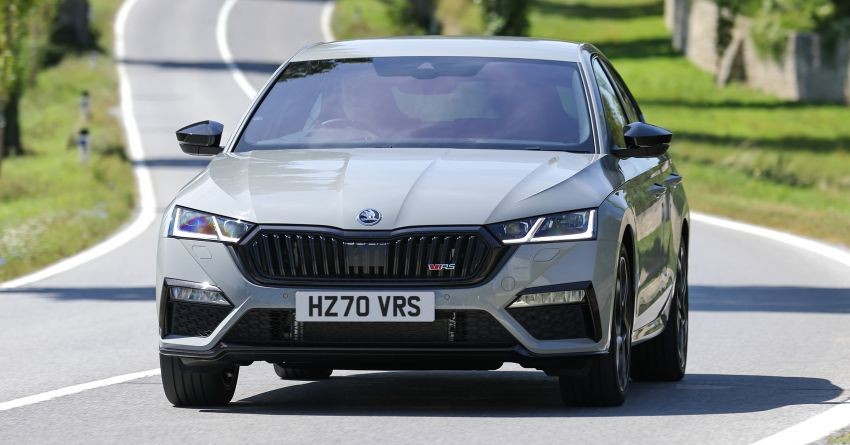 2021 Skoda Octavia vRS – 245 PS performance hatch and wagon launched in the UK; priced from RM166k Image #1189850