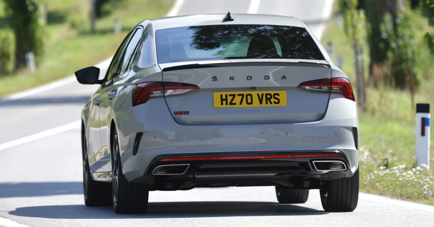 2021 Skoda Octavia vRS – 245 PS performance hatch and wagon launched in the UK; priced from RM166k Image #1189853