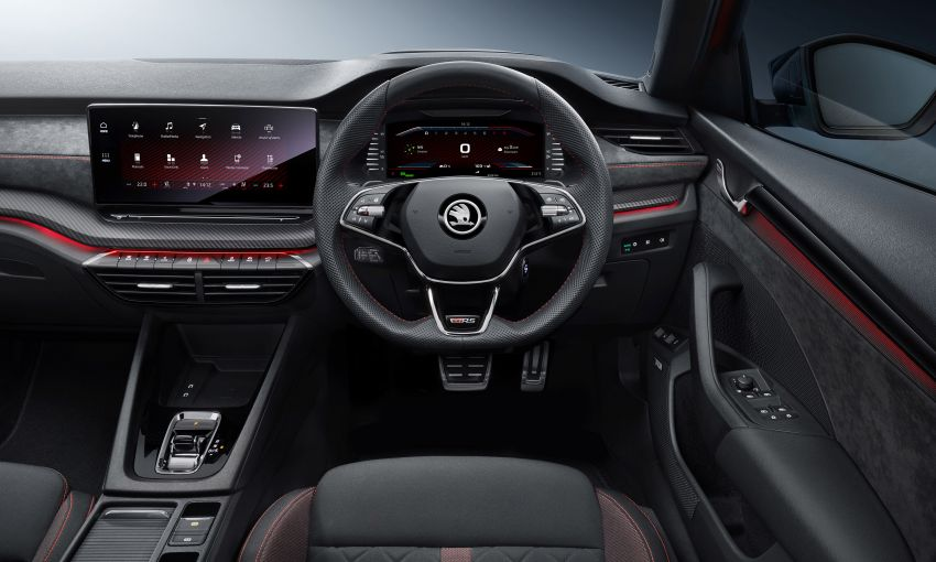 2021 Skoda Octavia vRS – 245 PS performance hatch and wagon launched in the UK; priced from RM166k Image #1189858