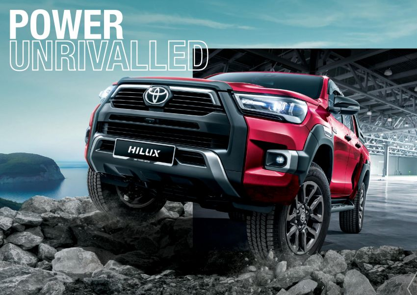 2021 Toyota Hilux facelift launched in M'sia – power bump for 2.8L Rogue, 10k service interval, from RM93k Image #1189581