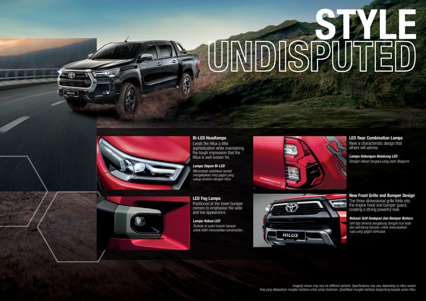 2021 Toyota Hilux facelift launched in M'sia – power bump for 2.8L Rogue, 10k service interval, from RM93k Image #1189584