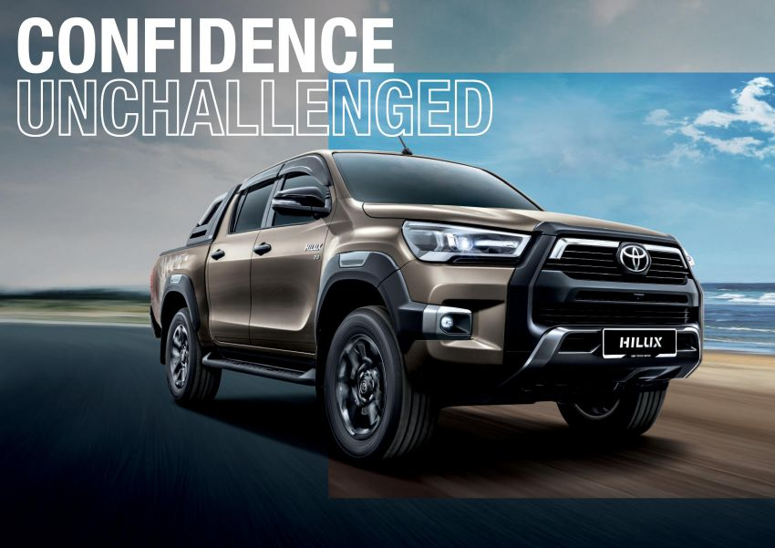 2021 Toyota Hilux facelift launched in M'sia – power bump for 2.8L Rogue, 10k service interval, from RM93k Image #1189587