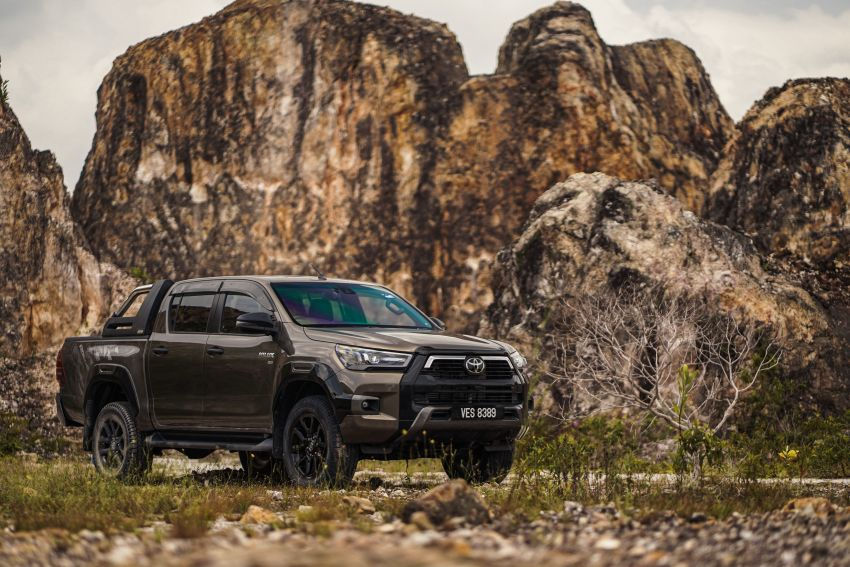 2021 Toyota Hilux facelift launched in M'sia – power bump for 2.8L Rogue, 10k service interval, from RM93k Image #1189558