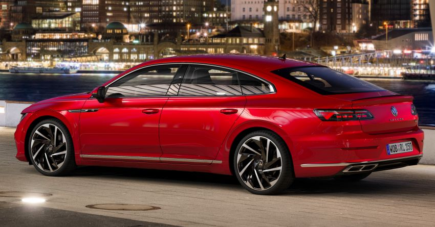 2021 Volkswagen Arteon gets two new engines – 1.5L TSI with 150 PS and 2.0L TDI with 200 PS; 26 variants Image #1194222
