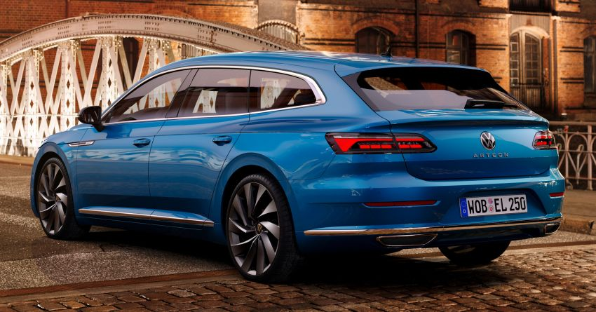 2021 Volkswagen Arteon gets two new engines – 1.5L TSI with 150 PS and 2.0L TDI with 200 PS; 26 variants Image #1194223
