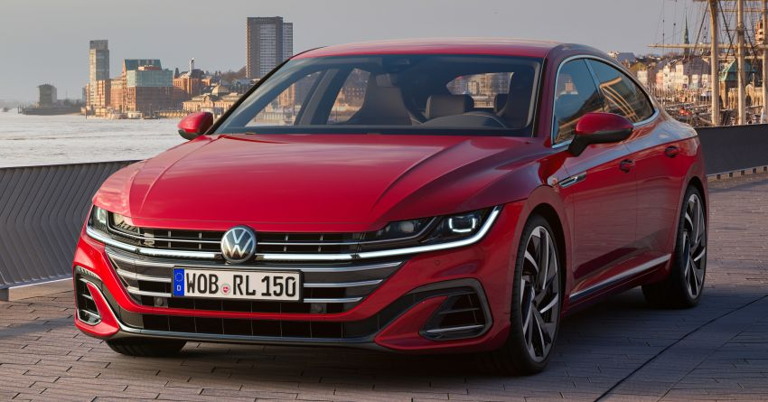 2021 Volkswagen Arteon gets two new engines – 1.5L TSI with 150 PS and 2.0L TDI with 200 PS; 26 variants Image #1194225