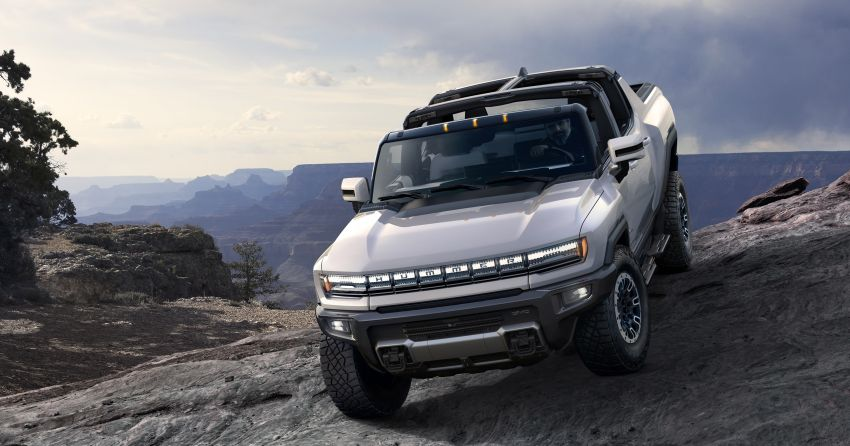 2022 GMC Hummer EV debuts –  three-motor electric pick-up truck with 1,000 hp and 15,591 Nm of torque! Image #1195957