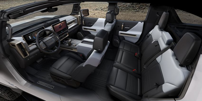 2022 GMC Hummer EV debuts –  three-motor electric pick-up truck with 1,000 hp and 15,591 Nm of torque! Image #1195968