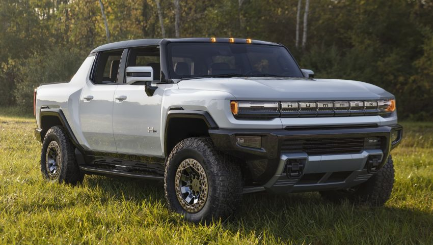 2022 GMC Hummer EV debuts –  three-motor electric pick-up truck with 1,000 hp and 15,591 Nm of torque! Image #1195978