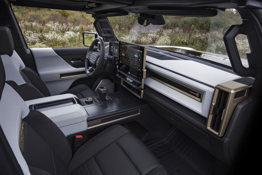 2022 GMC Hummer EV debuts –  three-motor electric pick-up truck with 1,000 hp and 15,591 Nm of torque! Image #1195982