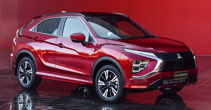 2021 Mitsubishi Eclipse Cross facelift officially debuts – updated styling; new PHEV powertrain available Image #1193482