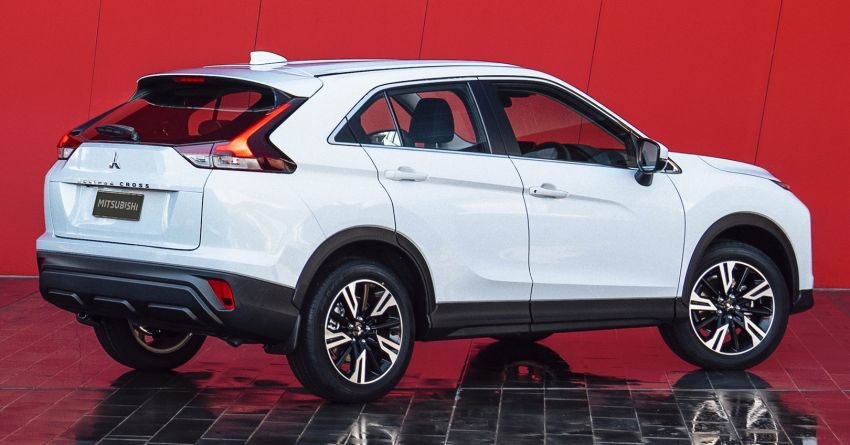 2021 Mitsubishi Eclipse Cross facelift officially debuts – updated styling; new PHEV powertrain available Image #1193483