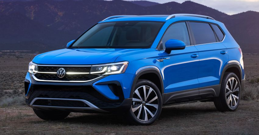 2022 Volkswagen Taos SUV makes its debut in the US – slots in below the Tiguan; 1.5L with 158 hp, 249 Nm Image #1192717