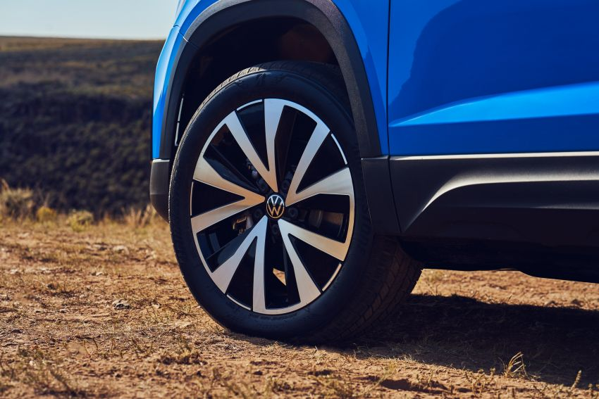 2022 Volkswagen Taos SUV makes its debut in the US – slots in below the Tiguan; 1.5L with 158 hp, 249 Nm Image #1192731