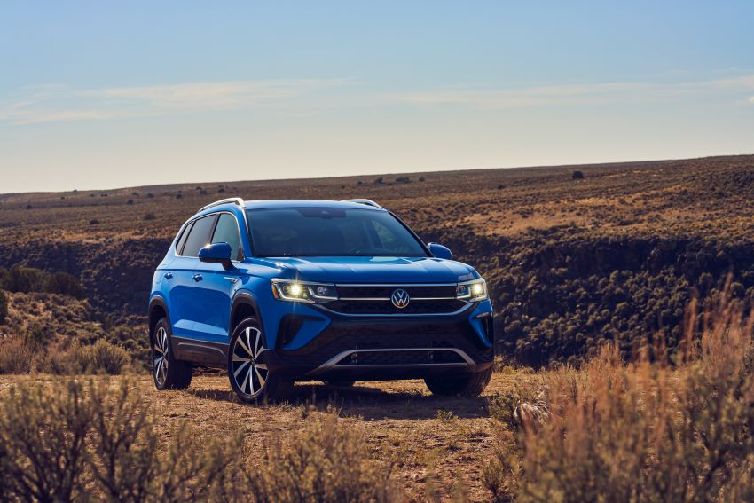 2022 Volkswagen Taos SUV makes its debut in the US – slots in below the Tiguan; 1.5L with 158 hp, 249 Nm Image #1192732