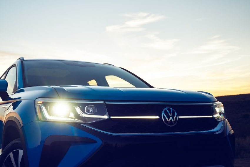 2022 Volkswagen Taos SUV makes its debut in the US – slots in below the Tiguan; 1.5L with 158 hp, 249 Nm Image #1192733