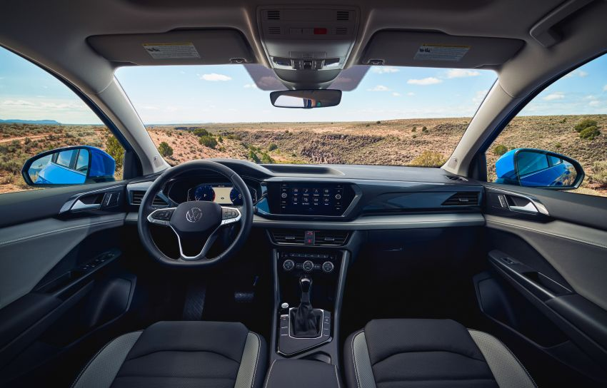 2022 Volkswagen Taos SUV makes its debut in the US – slots in below the Tiguan; 1.5L with 158 hp, 249 Nm Image #1192734