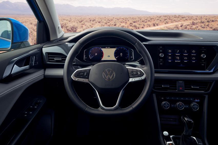 2022 Volkswagen Taos SUV makes its debut in the US – slots in below the Tiguan; 1.5L with 158 hp, 249 Nm Image #1192736