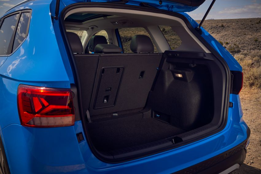 2022 Volkswagen Taos SUV makes its debut in the US – slots in below the Tiguan; 1.5L with 158 hp, 249 Nm Image #1192740