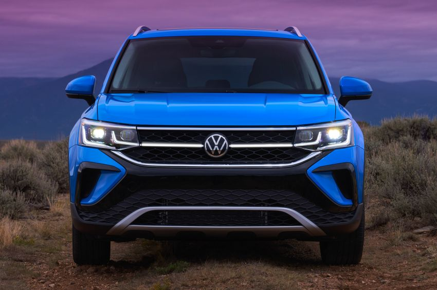 2022 Volkswagen Taos SUV makes its debut in the US – slots in below the Tiguan; 1.5L with 158 hp, 249 Nm Image #1192719