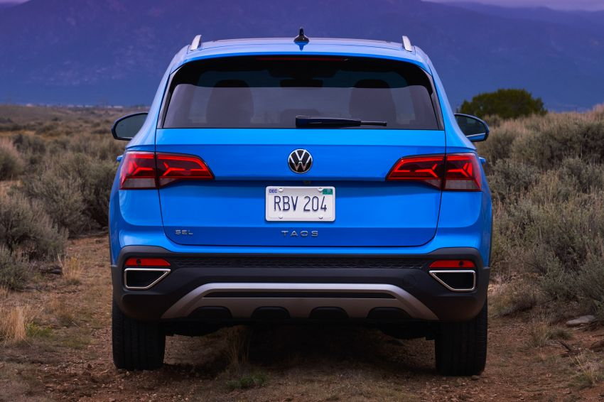 2022 Volkswagen Taos SUV makes its debut in the US – slots in below the Tiguan; 1.5L with 158 hp, 249 Nm Image #1192720