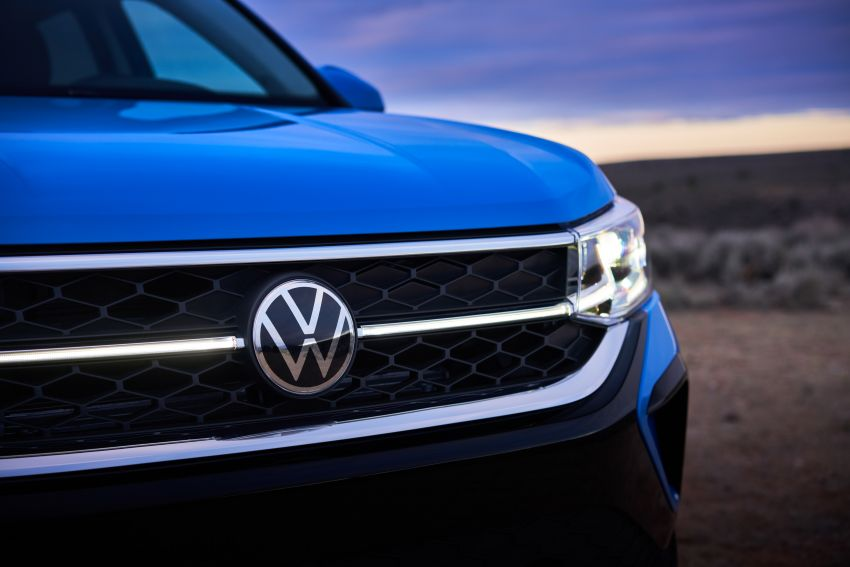 2022 Volkswagen Taos SUV makes its debut in the US – slots in below the Tiguan; 1.5L with 158 hp, 249 Nm Image #1192723