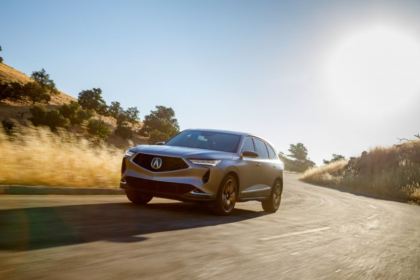 Acura MDX Prototype revealed – previews production version of all-new, three-row SUV arriving early 2021 Image #1193359