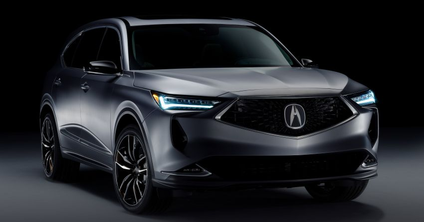 Acura MDX Prototype revealed – previews production version of all-new, three-row SUV arriving early 2021 Image #1193372