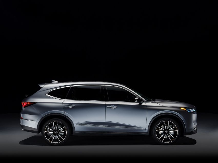 Acura MDX Prototype revealed – previews production version of all-new, three-row SUV arriving early 2021 Image #1193373