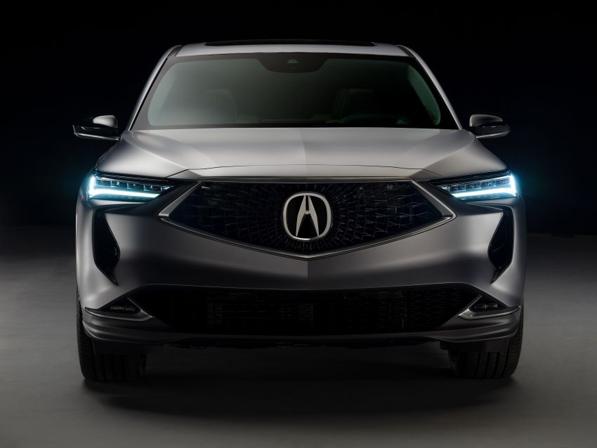 Acura MDX Prototype revealed – previews production version of all-new, three-row SUV arriving early 2021 Image #1193377