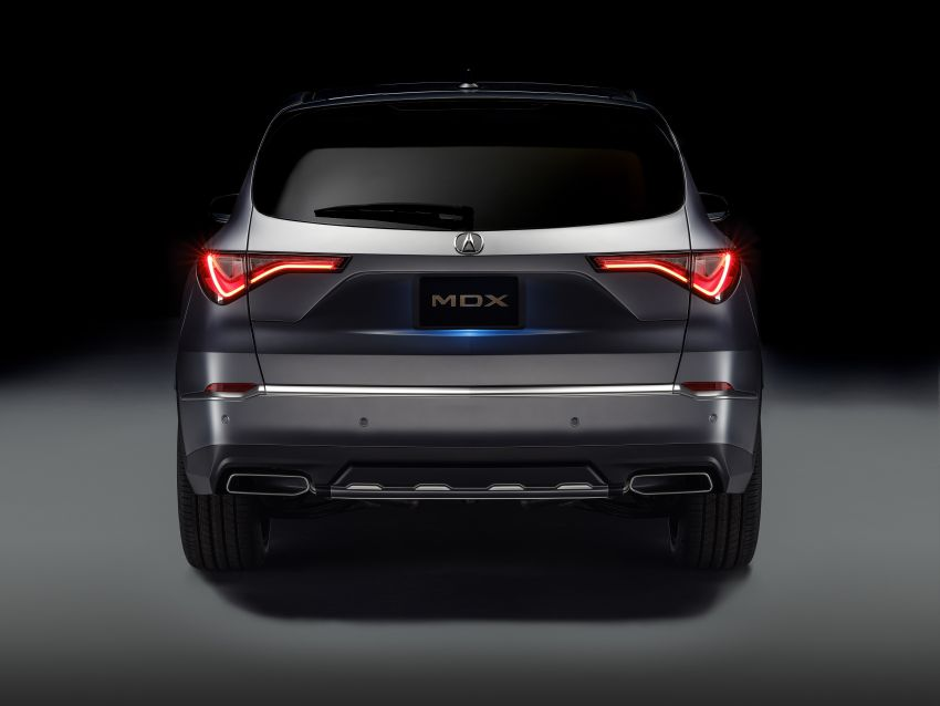 Acura MDX Prototype revealed – previews production version of all-new, three-row SUV arriving early 2021 Image #1193379