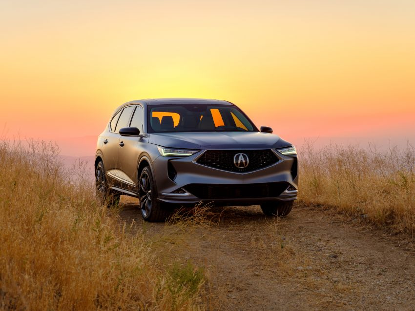 Acura MDX Prototype revealed – previews production version of all-new, three-row SUV arriving early 2021 Image #1193361
