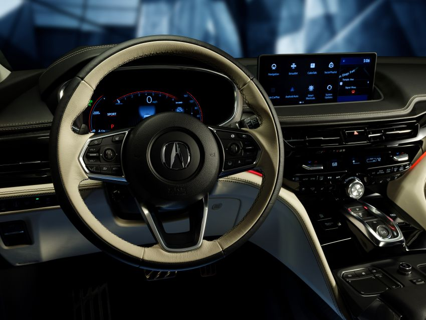 Acura MDX Prototype revealed – previews production version of all-new, three-row SUV arriving early 2021 Image #1193395