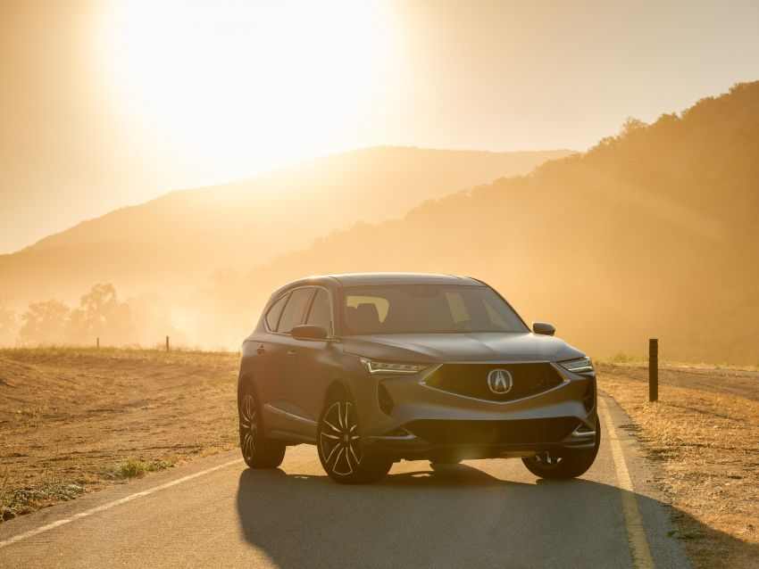 Acura MDX Prototype revealed – previews production version of all-new, three-row SUV arriving early 2021 Image #1193364