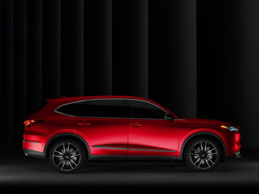 Acura MDX Prototype revealed – previews production version of all-new, three-row SUV arriving early 2021 Image #1193416