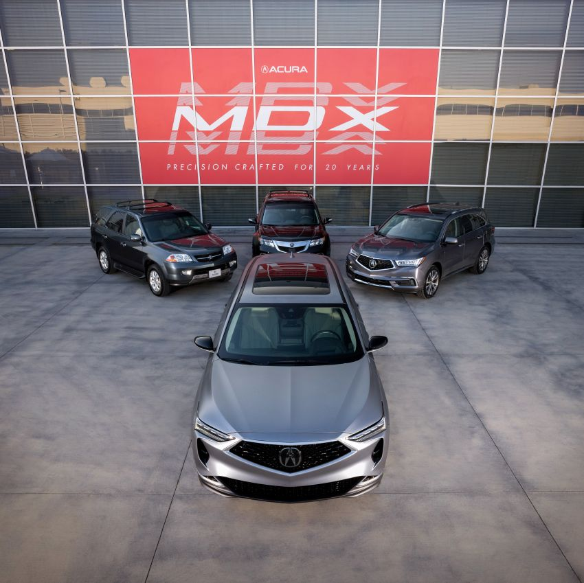Acura MDX Prototype revealed – previews production version of all-new, three-row SUV arriving early 2021 Image #1193419