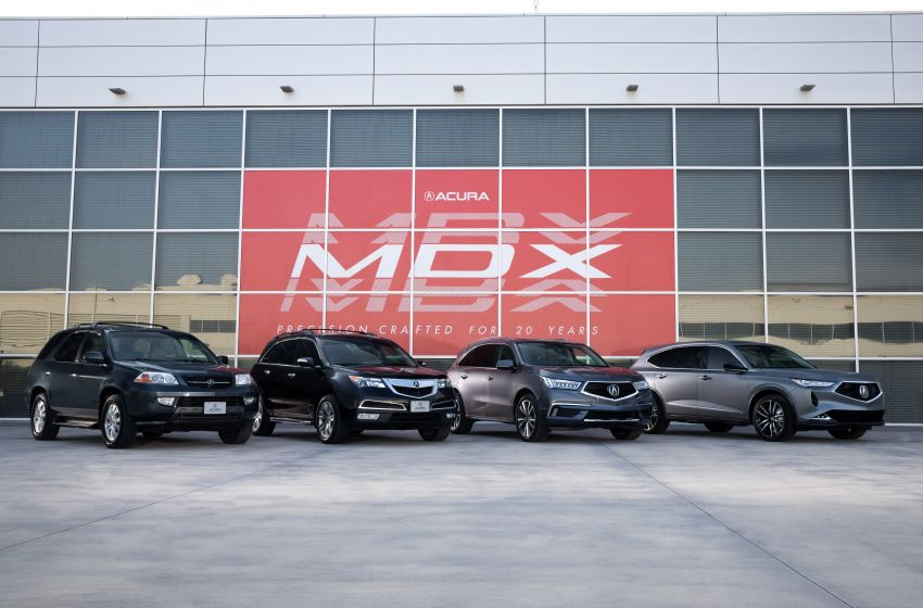 Acura MDX Prototype revealed – previews production version of all-new, three-row SUV arriving early 2021 Image #1193420