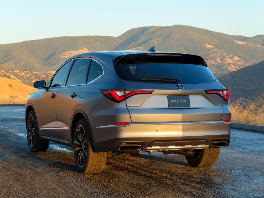 Acura MDX Prototype revealed – previews production version of all-new, three-row SUV arriving early 2021 Image #1193368