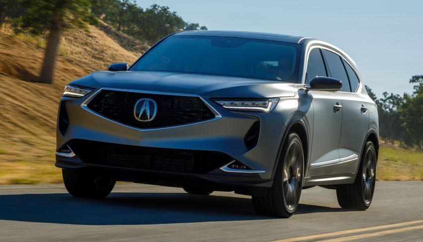 Acura MDX Prototype revealed – previews production version of all-new, three-row SUV arriving early 2021 Image #1193370